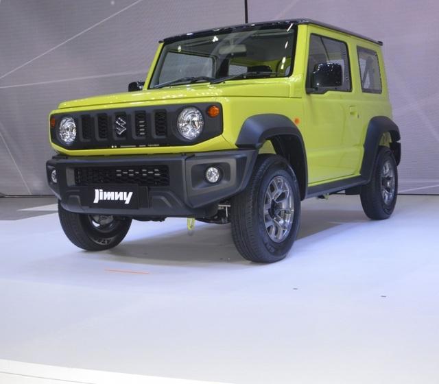 Suzuki Jimny ra mắt tại Thái Lan, giá cao ngất ngưởng - 5