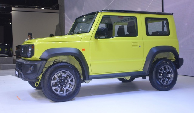 Suzuki Jimny ra mắt tại Thái Lan, giá cao ngất ngưởng - 6