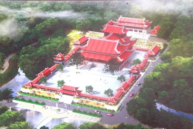 Dự án chùa Ba Vàng Quảng Nam