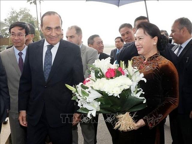 Chủ tịch Quốc hội Nguyễn Thị Kim Ngân bắt đầu thăm chính thức Morocco - 1
