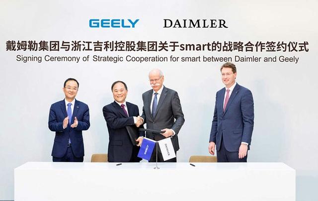Geely & Daimler