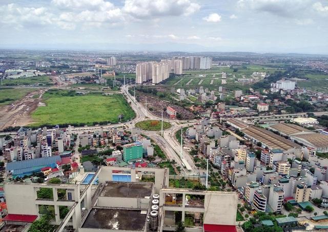 """Hà Nội: Giá đất tại 4 huyện """"nhảy múa"""", có nên tin? - 1"""
