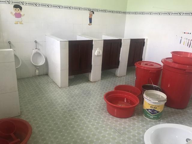 Quảng Ngãi: Trường mầm non tiền tỷ mới sử dụng đã hỏng - 3