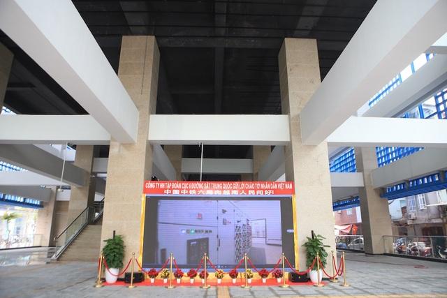 Bên trong nhà ga tàu điện Cát Linh - Hà Đông trước ngày vận hành - 1