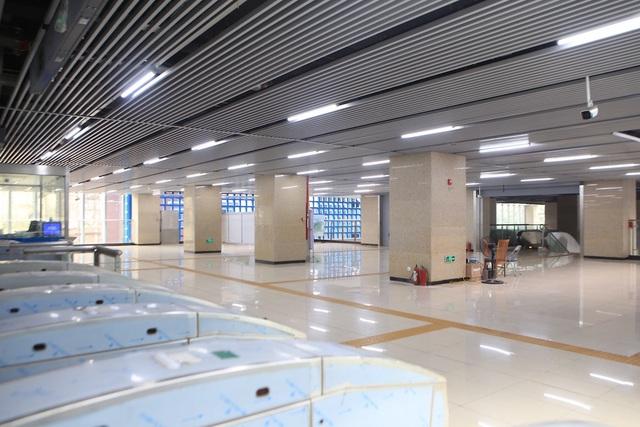 Bên trong nhà ga tàu điện Cát Linh - Hà Đông trước ngày vận hành - 4