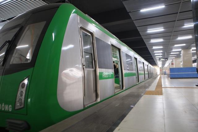 Bên trong nhà ga tàu điện Cát Linh - Hà Đông trước ngày vận hành - 9