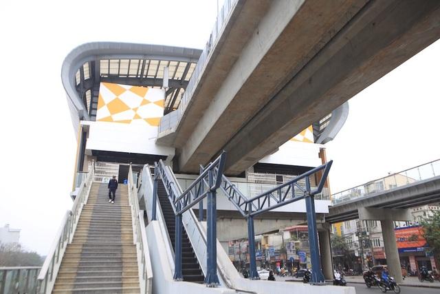 Bên trong nhà ga tàu điện Cát Linh - Hà Đông trước ngày vận hành - 11