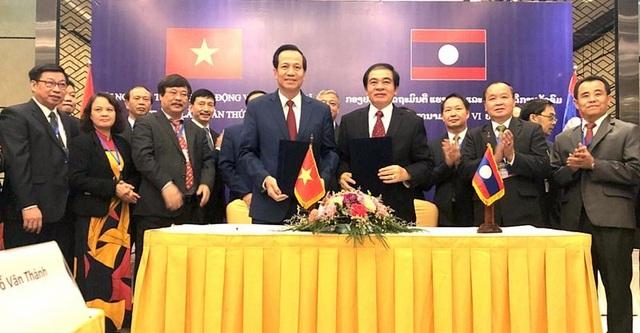 Việt Nam - Lào: Hợp tác 8 nội dung về lao động, an sinh, giáo dục nghề nghiệp - 1