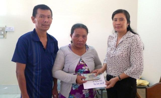 Bạn đọc giúp anh Huỳnh Hữu Trọng hơn 56 triệu đồng  - 1