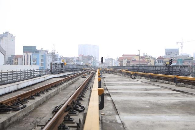 Bên trong nhà ga tàu điện Cát Linh - Hà Đông trước ngày vận hành - 10