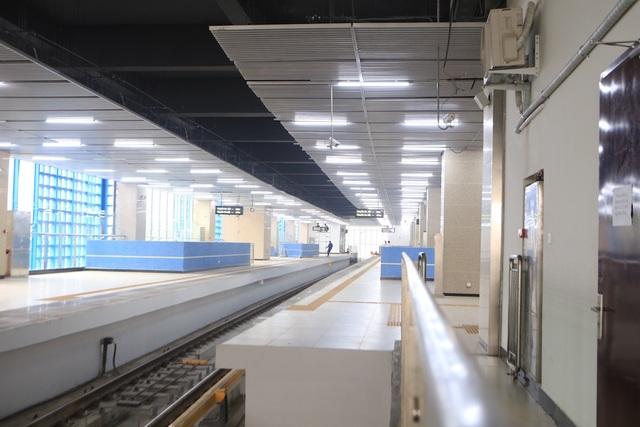 Bên trong nhà ga tàu điện Cát Linh - Hà Đông trước ngày vận hành - 5