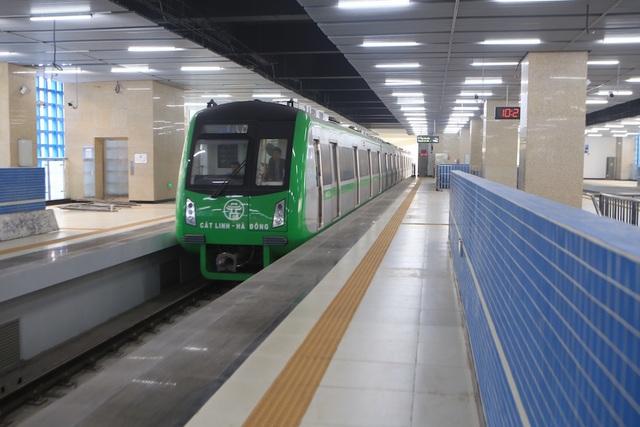 Bên trong nhà ga tàu điện Cát Linh - Hà Đông trước ngày vận hành - 8