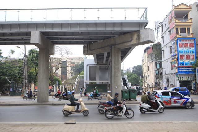Bên trong nhà ga tàu điện Cát Linh - Hà Đông trước ngày vận hành - 12