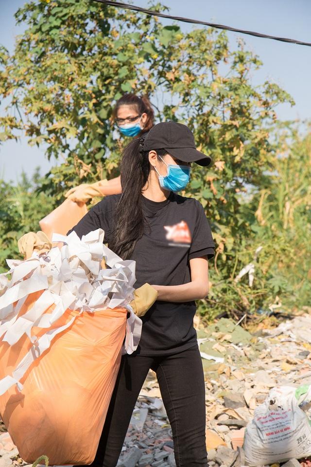 Top 3 Hoa hậu Hoàn Vũ hào hứng tham gia thử thách dọn rác - 8