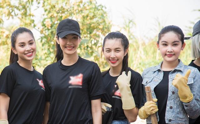 Top 3 Hoa hậu Hoàn Vũ hào hứng tham gia thử thách dọn rác - 14