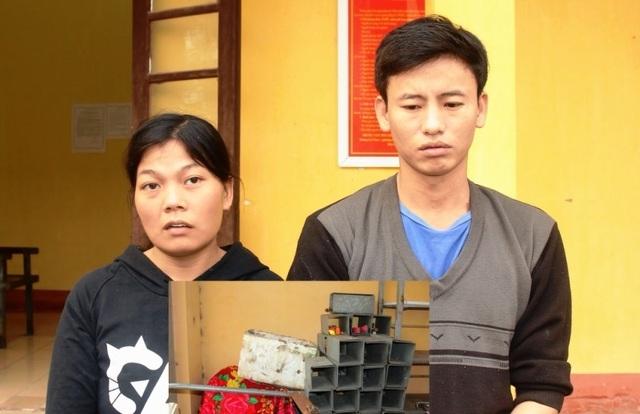Hai vợ chồng trộm gần 500 hộp đệm trên đường cao tốc - 1