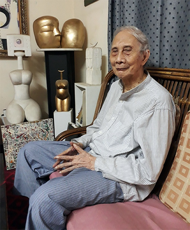 Nhà điêu khắc Lê Công Thành qua đời ở tuổi 87 - 1