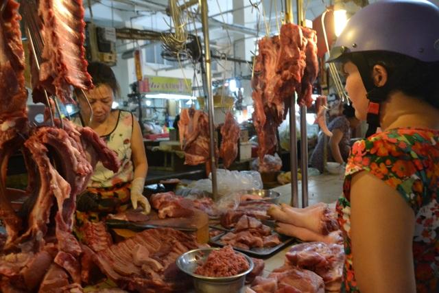 Do lo ngại dịch bệnh ASF nên lượng tiêu thụ heo tại Đồng Nai giảm mạnh.