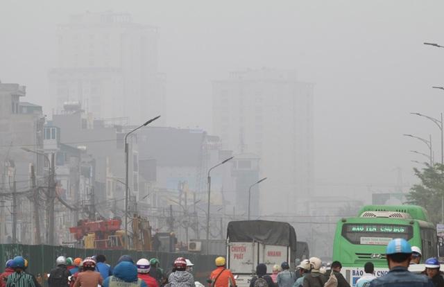 Báo động chất lượng không khí tại Hà Nội đi xuống - 2