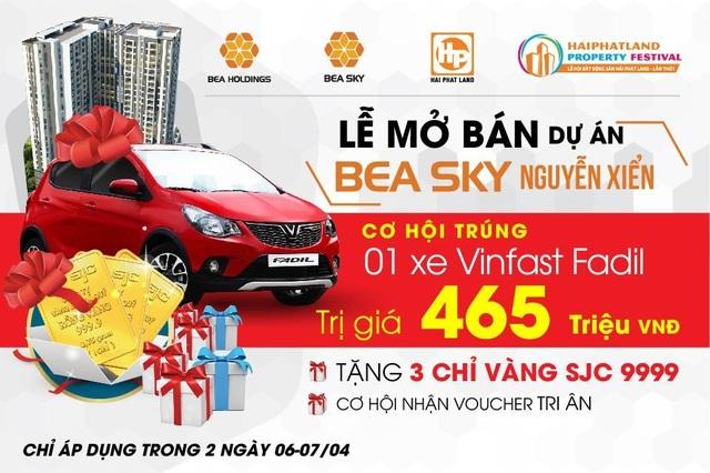 Cơ hội nhận ưu đãi lên tới 500 triệu tại Lễ mở bán Bea Sky Nguyễn Xiển - 1