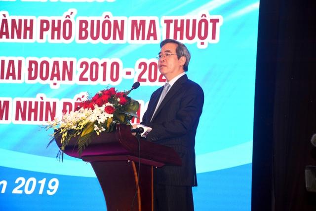 Đồng chí Nguyễn Văn Bình phát biểu khai mạc.JPG