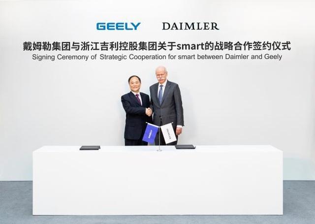 Daimler bắt tay với hãng xe Trung Quốc để cứu Smart - 1