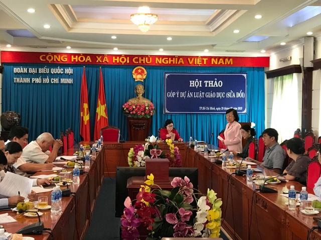 hội thảo góp ý dự thảo luật giáo dục sửa đổi 29.3.jpg