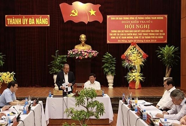 Phó Thủ tướng nhắc Đà Nẵng những vướng mắc trong vụ án Phạm Công Danh - 1