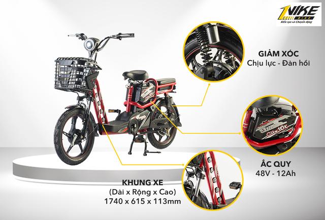 Nike Bike trình làng mẫu xe đạp điện City lần đầu tiên xuất hiện tại Việt Nam - 3