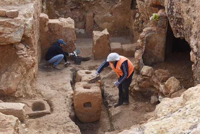 Phát hiện ngôi làng cổ ở Jerusalem - 1