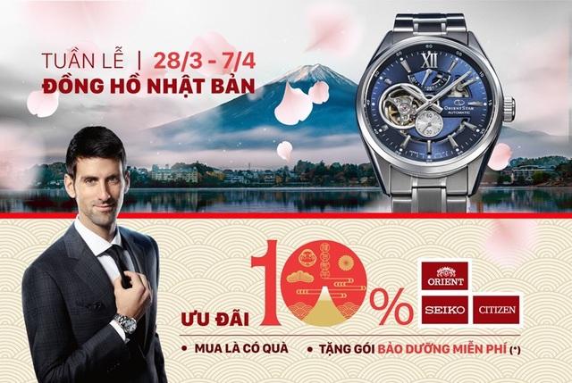 Điều gì tạo nên sức hút cho đồng hồ Nhật Bản tại Việt Nam - 2