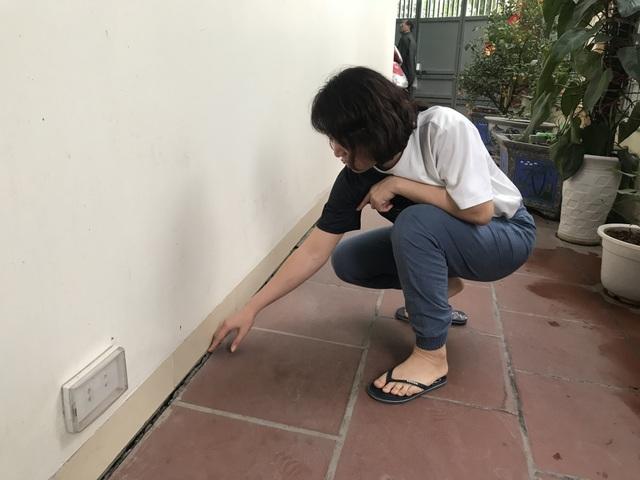 Hà Nội: Hãi hùng 80 căn hộ trong khu đô thị bị sụt lún, nứt toác - 5