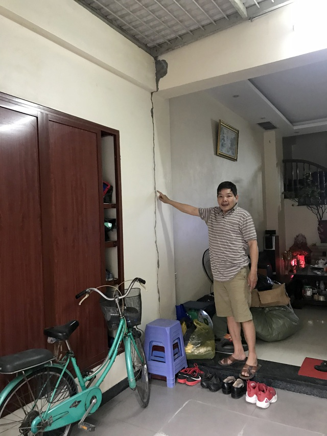 Hà Nội: Hãi hùng 80 căn hộ trong khu đô thị bị sụt lún, nứt toác - 11