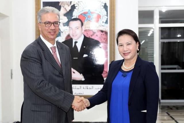 Chủ tịch Quốc hội mong muốn Marrakech của Morocco kết nghĩa với thành phố Huế - 1