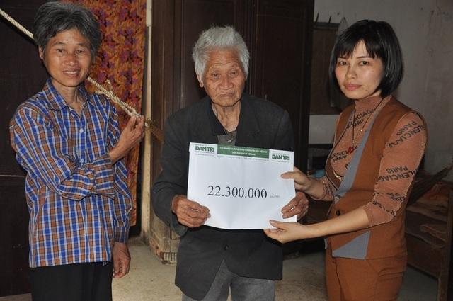 Hơn 22 triệu đồng tiếp tục đến với cụ Vũ Văn Lâm - 2