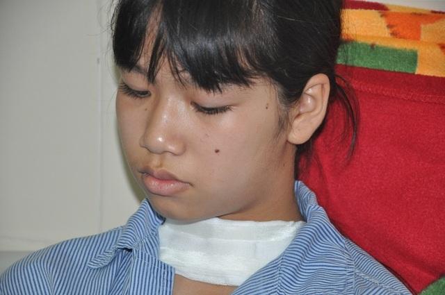 Bạn đọc giúp đỡ cô bé Nga mồ côi bị ung thư tuyến giáp gần 162 triệu đồng - 1