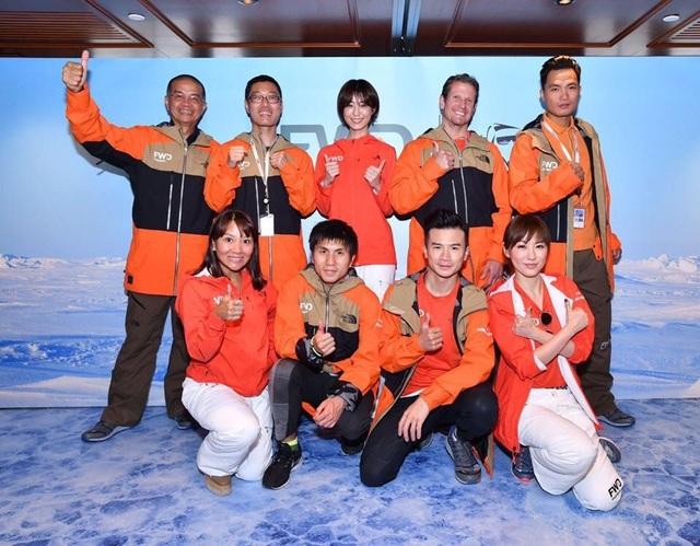 Đại diện Việt Nam tại FWD Marathon Bắc Cực chạy vì người khuyết tật  - 2
