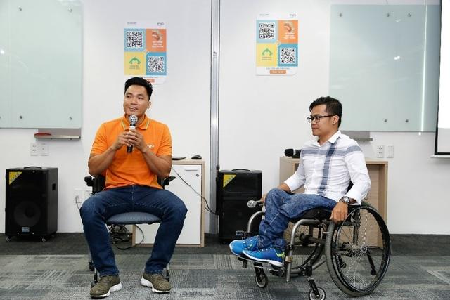 Đại diện Việt Nam tại FWD Marathon Bắc Cực chạy vì người khuyết tật  - 3