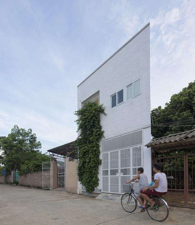 """Nhà """"siêu mỏng"""" ở Hà Nội khiến tạp chí kiến trúc thế giới ngỡ ngàng - 1"""