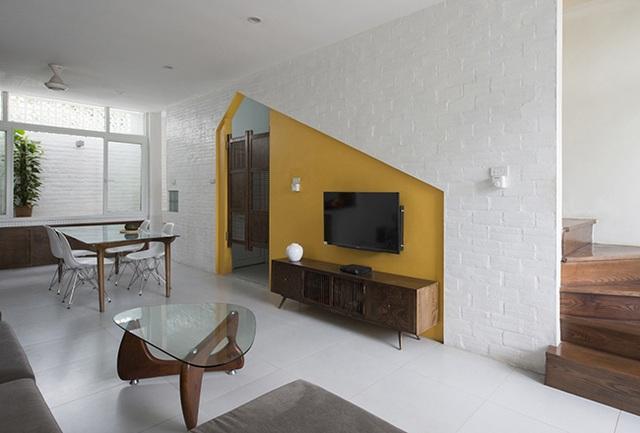 """Nhà """"siêu mỏng"""" ở Hà Nội khiến tạp chí kiến trúc thế giới ngỡ ngàng - 13"""