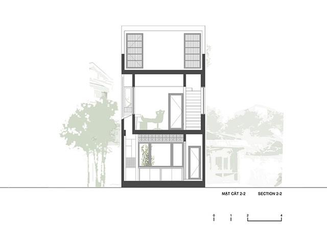 """Nhà """"siêu mỏng"""" ở Hà Nội khiến tạp chí kiến trúc thế giới ngỡ ngàng - 3"""
