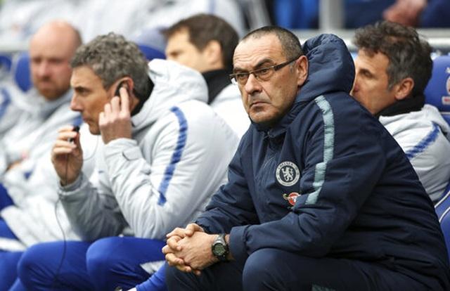 """Cardiff 1-2 Chelsea: Thắng trận nhờ """"bàn thắng ma"""" - 7"""