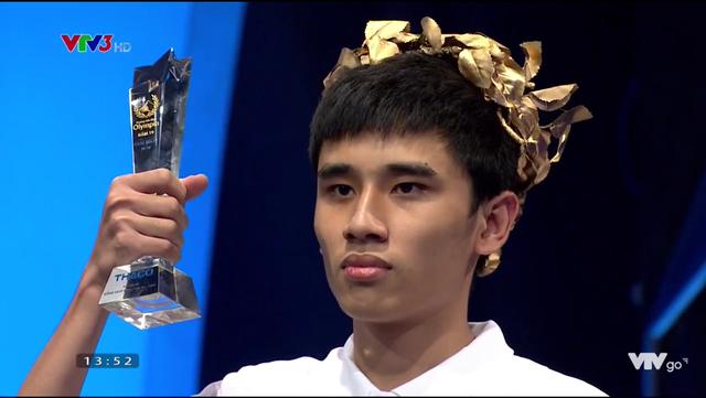Nam sinh Sóc Sơn không có đối thủ ở cuộc thi Tuần Olympia - 2