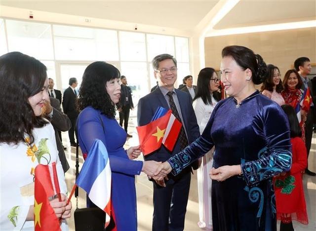 Chủ tịch Quốc hội Nguyễn Thị Kim Ngân thăm chính thức Cộng hòa Pháp - 2