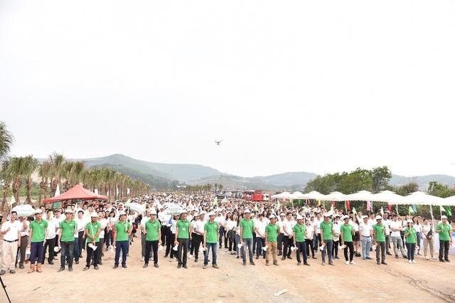 10.000 cây xanh được gieo trồng trong Lễ phát động chiến dịch Go Green 2019 của Tập đoàn FLC - 1