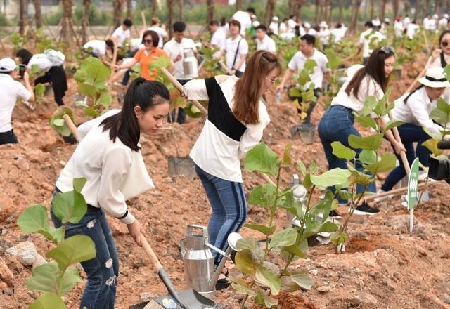 10.000 cây xanh được gieo trồng trong Lễ phát động chiến dịch Go Green 2019 của Tập đoàn FLC - 5