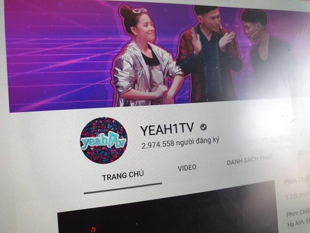 Youtube chính thức huỷ hợp đồng, Yeah1 bốc hơi gần 5.000 tỷ  - 1