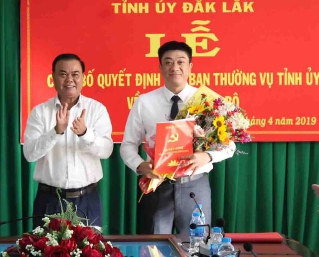 Đắk Lắk bổ nhiệm Giám đốc Sở Tài chính làm Bí thư Thành ủy Buôn Ma Thuột - 1