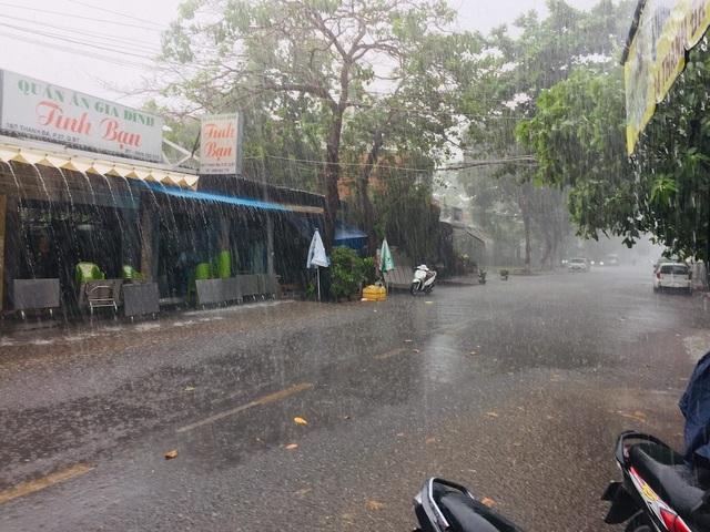 Cơn mưa vàng giải nhiệt cho TPHCM sau đợt nắng nóng gay gắt - 1