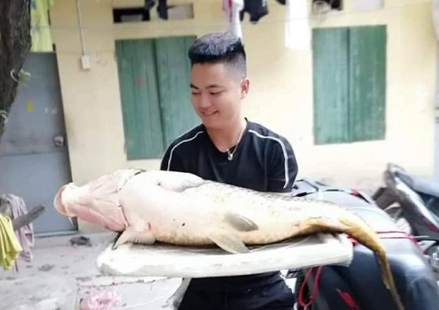 Người Hà thành mạnh tay chi gần chục triệu để mua 1 con cá chép - 2